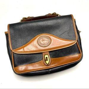 Dooney & Bourke 90's Pebble Leather Satchel